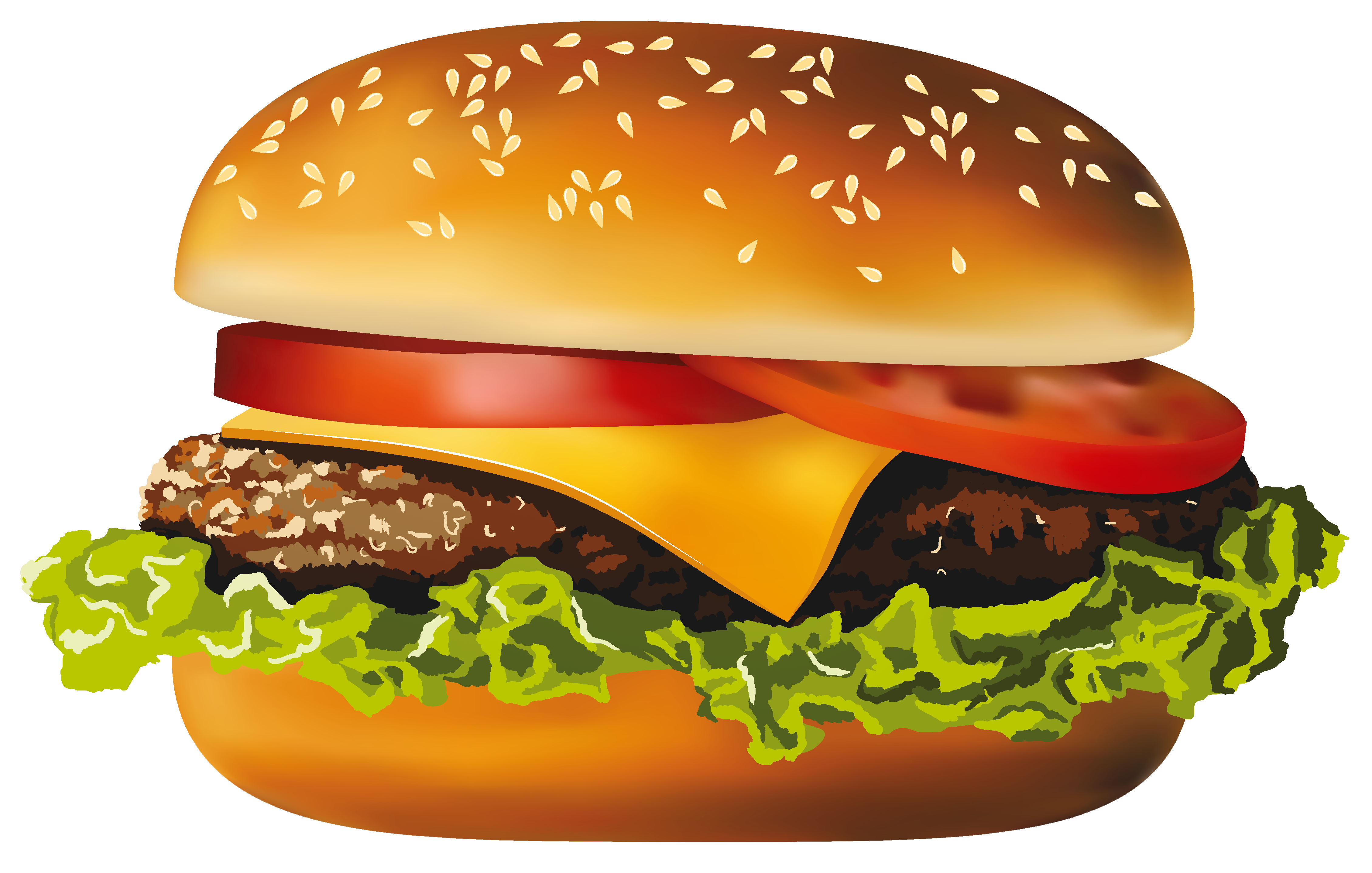 Clipart hamburguer image black and white Pin by Rosa Arias on frutas in 2019   Hamburger, Food png, Vector ... image black and white