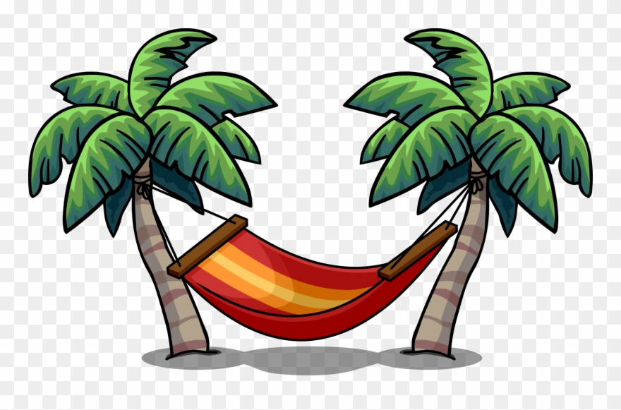 Clipart hammok clip art freeuse library Tropical Hammock Ig - Palm Tree With Hammock Clipart - Png Download ... clip art freeuse library