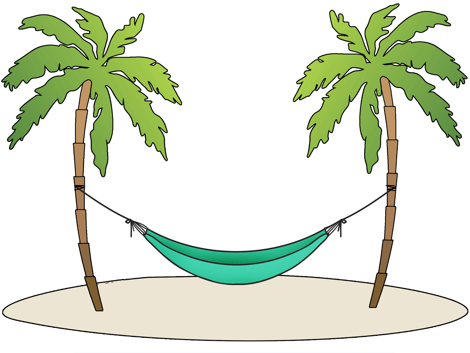 Clipart hammok jpg library Collection of Hammock clipart | Free download best Hammock clipart ... jpg library