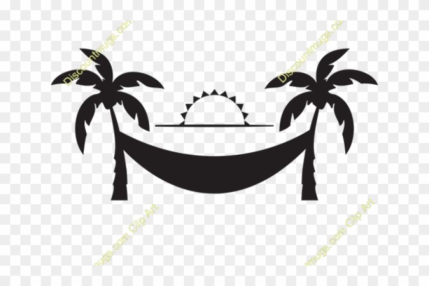 Clipart hammok clipart Hammock Clipart Medieval - Palm Tree Silhouette Clip Art, HD Png ... clipart