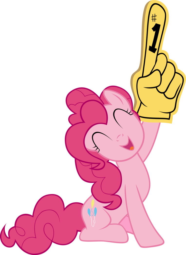 Clipart hand giving and receiving money clip art transparent library Pinkie Pie Giving a Big Hand by elegantmisreader on DeviantArt clip art transparent library
