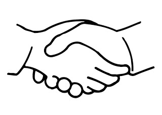 Clipart hand in hand