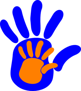 Clipart hand in hand banner transparent stock Hand In Hand Clip Art at Clker.com - vector clip art online ... banner transparent stock