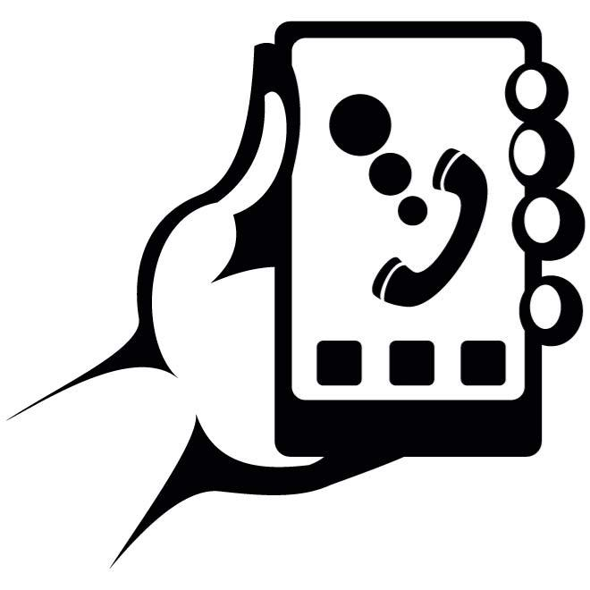 Clipart hand in hand clip library stock SMARTPHONE IN HAND CLIP ART - Download at Vectorportal clip library stock