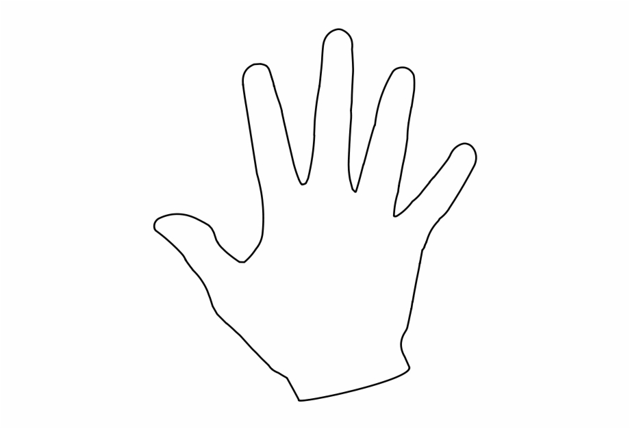 Clipart hand print graphic File - Hand - Svg - Printable Clip Art Hand Print Free PNG Images ... graphic