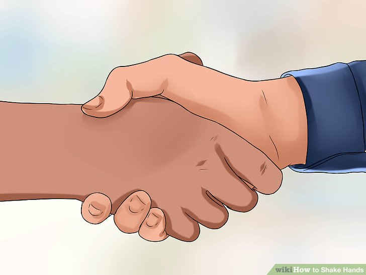 Clipart hand reaching out to shake someone s hand vector free 3 Ways to Shake Hands - wikiHow vector free