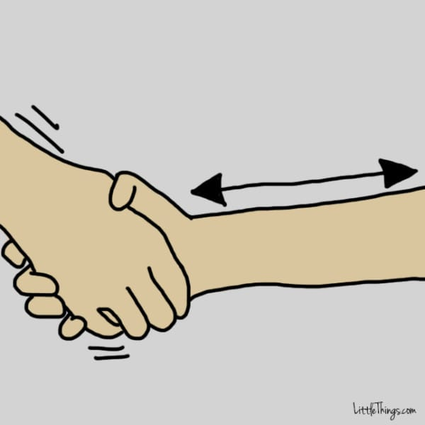 Clipart hand reaching out to shake someone s hand svg freeuse They Say Doing THIS With Your Hands Reveals Secrets To Your ... svg freeuse