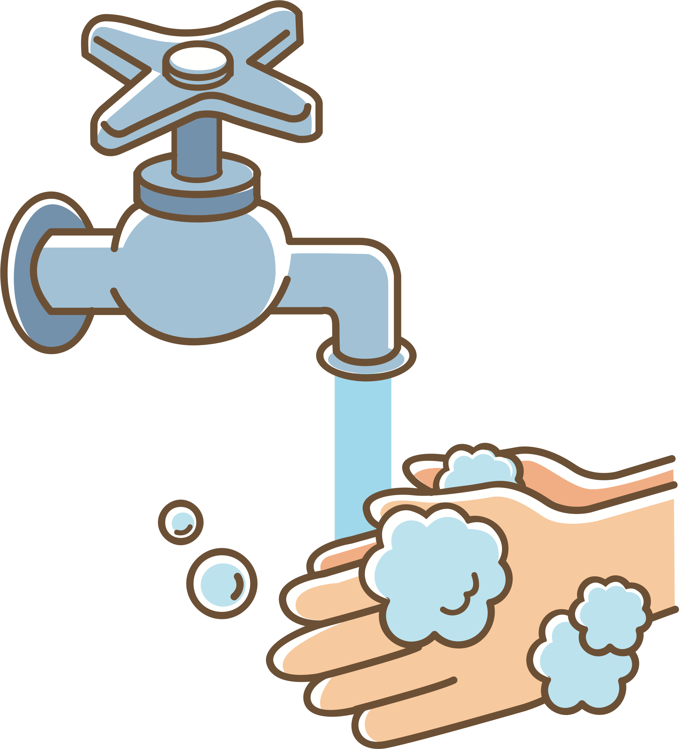 Washing hand clipart clipart royalty free download Clipart - Wash your hands (#2) clipart royalty free download