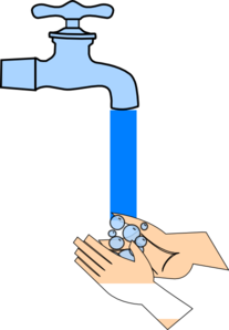 Clipart hand washing. Picture clip art at
