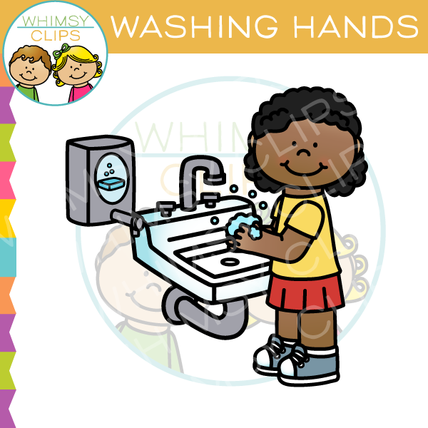 Clip art images illustrations. Clipart hand washing