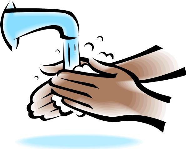 Hands kid picture. Clipart hand washing