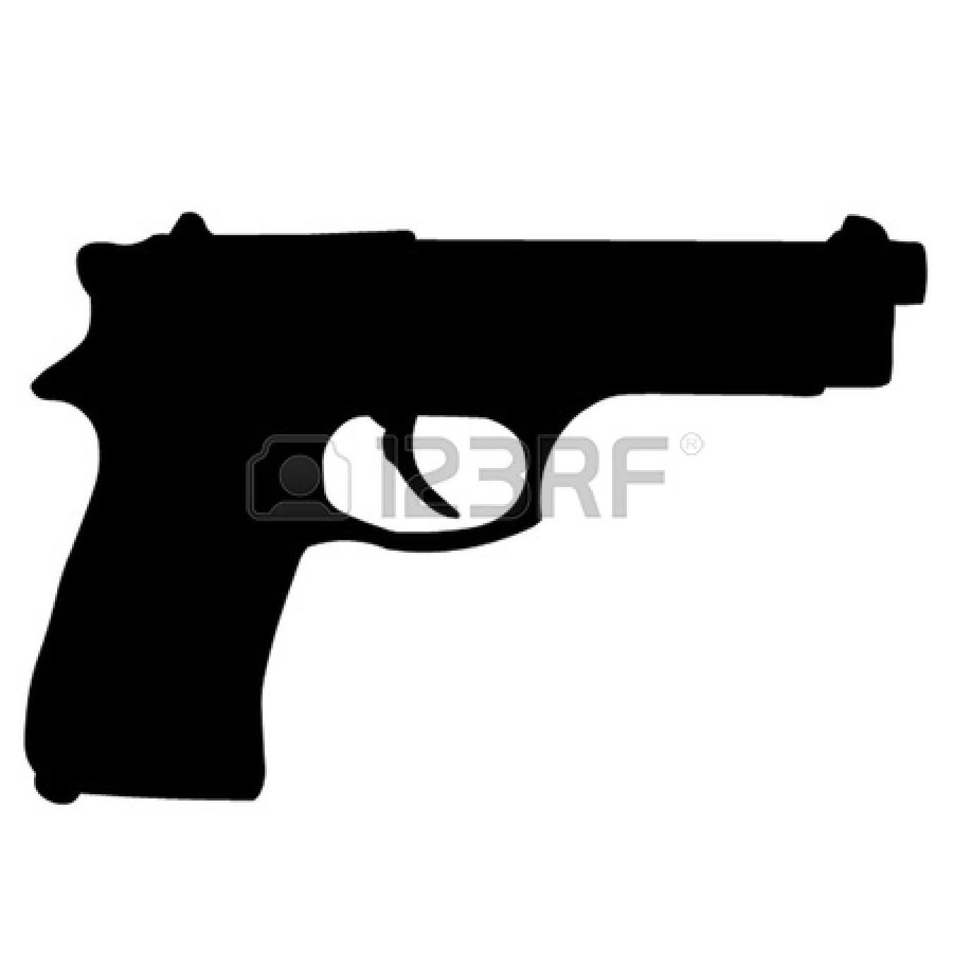 Clipart pistol svg royalty free stock 61+ Handgun Clip Art | ClipartLook svg royalty free stock