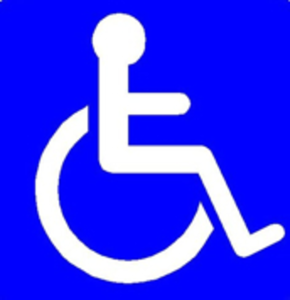 Disability symbols clipart clipart free stock Handicap Sign Free Images At Clker.com Vector Clip Art - Free Clipart clipart free stock