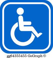 Clipart handicap clip free Handicapped Clip Art - Royalty Free - GoGraph clip free