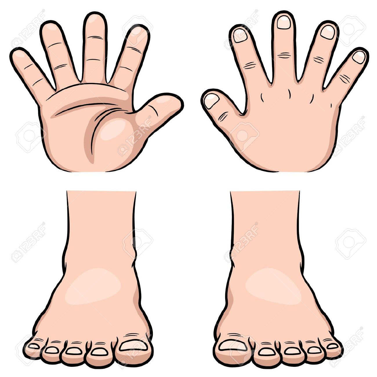 Clipart hands feet jpg freeuse download Hands And Feet Clipart | Free download best Hands And Feet Clipart ... jpg freeuse download