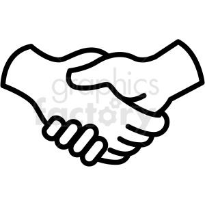Handshake icon clipart clip art stock handshake vector icon . Royalty-free icon # 406828 clip art stock