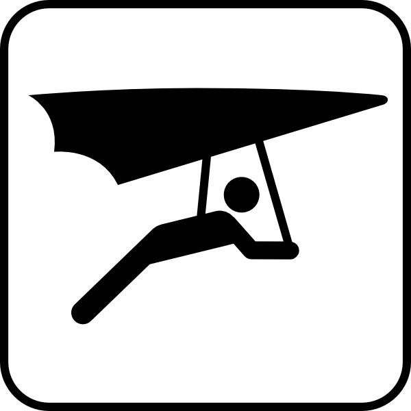 Clipart hang glider clip art transparent download Hang Glider clip art Free vector in Open office drawing svg ( .svg ... clip art transparent download