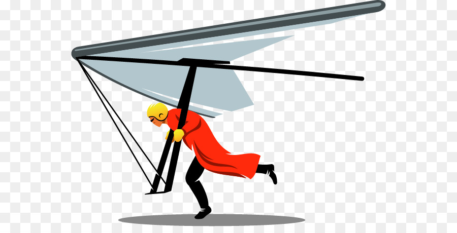 Clipart hang glider clipart library Hang Gliding Wing png download - 620*447 - Free Transparent Hang ... clipart library