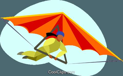 Clipart hang glider png download hang gliding Royalty Free Vector Clip Art illustration -vc005512 ... png download
