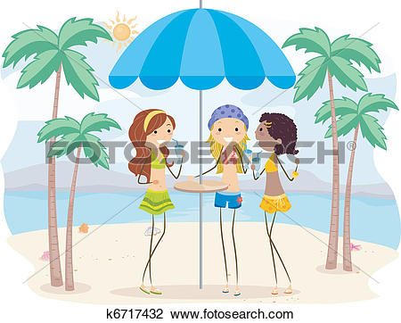 Clip art vector graphics. Clipart hanging out