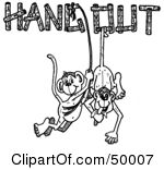 Clipart hanging out svg royalty free download Royalty-Free (RF) Hang Out Clipart, Illustrations, Vector Graphics #1 svg royalty free download