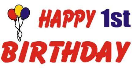 Clipart happy 1st birthday boy picture download Happy 1st birthday clipart - ClipartFest picture download