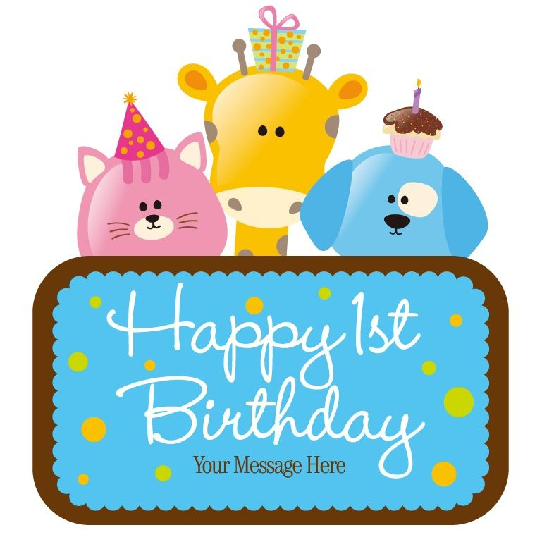 Clipart happy 1st birthday boy png transparent stock 1st Birthday Boy Clipart - Clipart Kid png transparent stock
