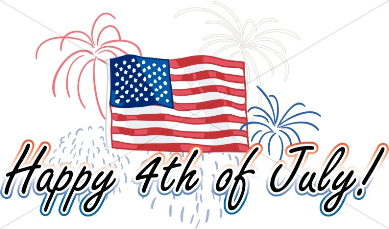 Clipart happy 4th of july clip library stock Happy Fourth Of July Clipart | Free download best Happy Fourth Of ... clip library stock