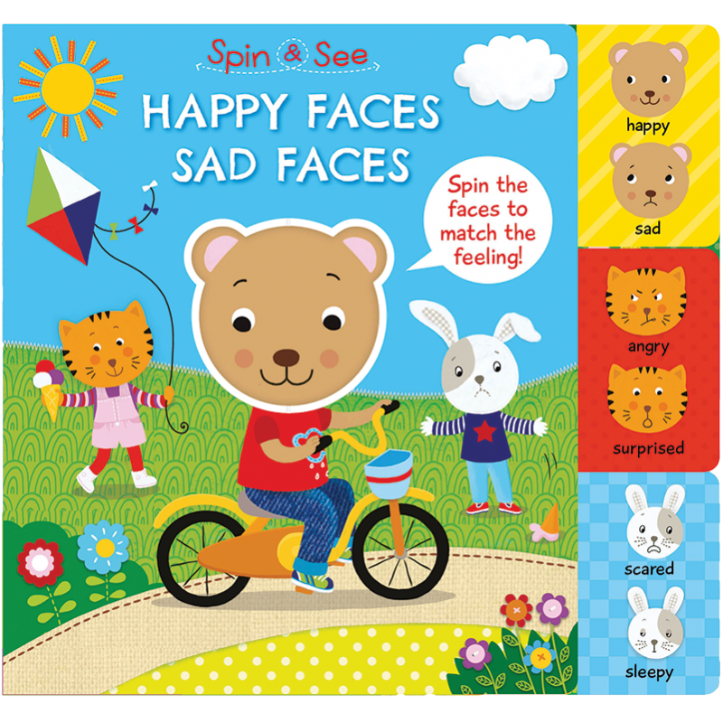 Clipart happy angry scared sleepy picture free stock Bookworks LLC :: Spin and See picture free stock