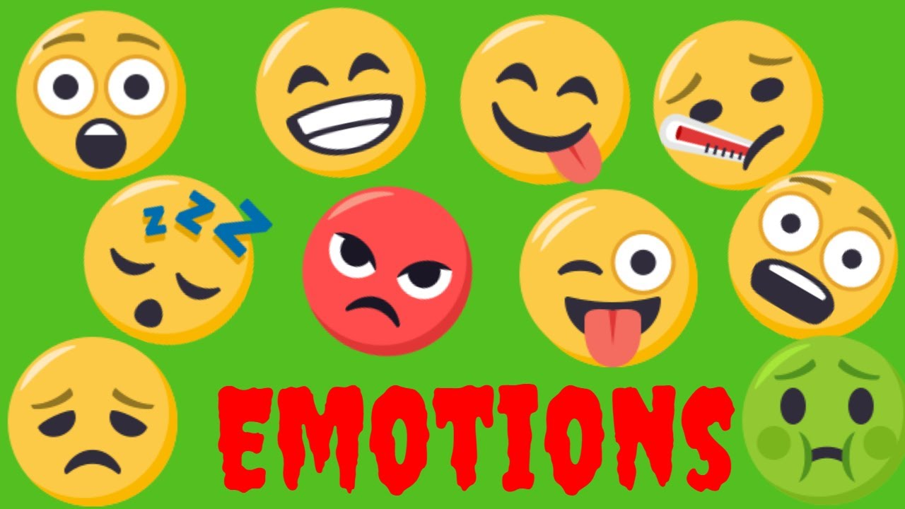 Clipart happy angry scared sleepy graphic transparent stock Kid story: Feelings and Emotions-Happy, sad, scared, sleepy, angry,  surprised, hungry, silly, sick graphic transparent stock
