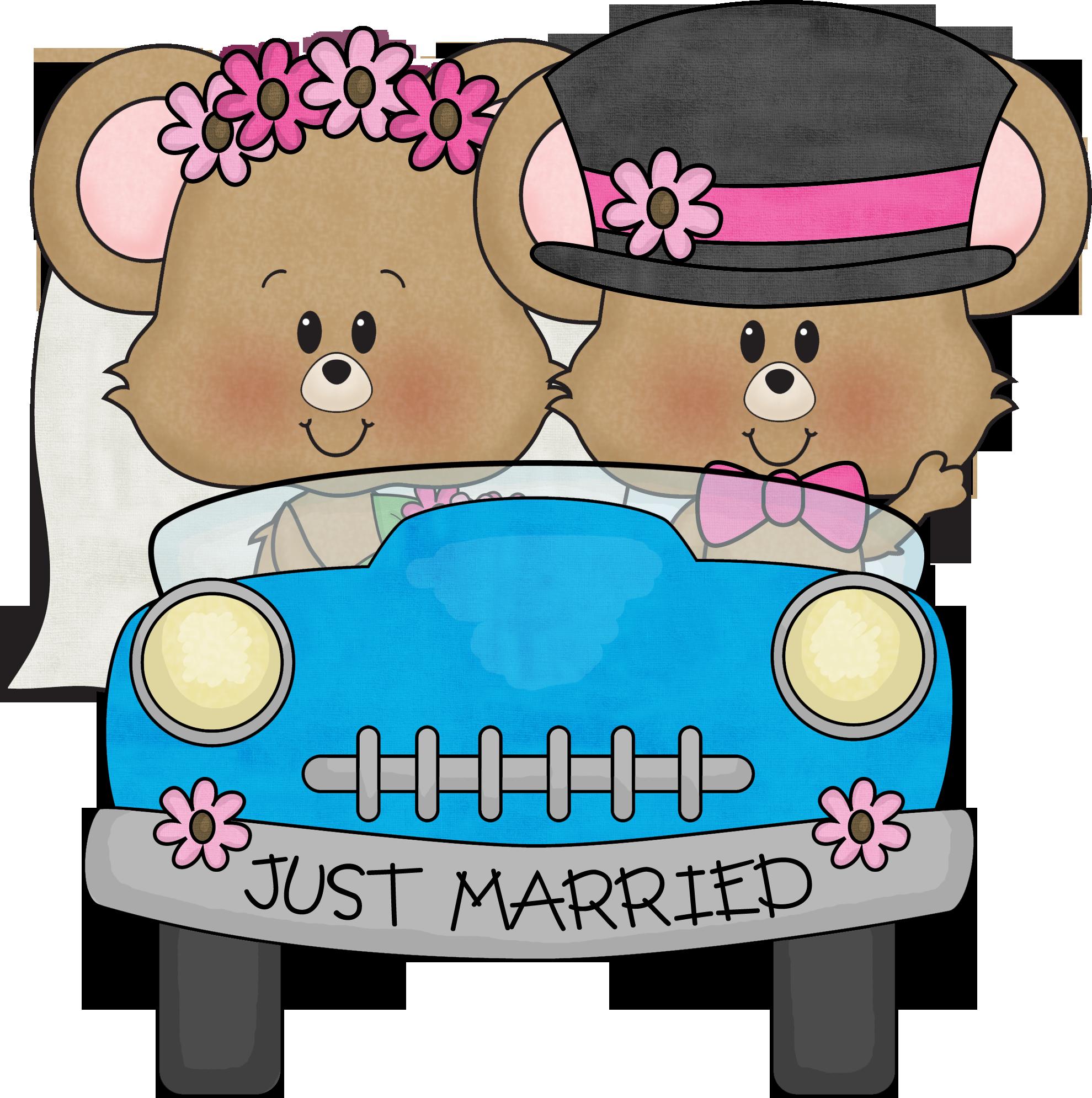 Happy anniversary funny clipart vector download Dibujos. Clipart. Digi stamp - Wedding - Just Married | Happy ... vector download