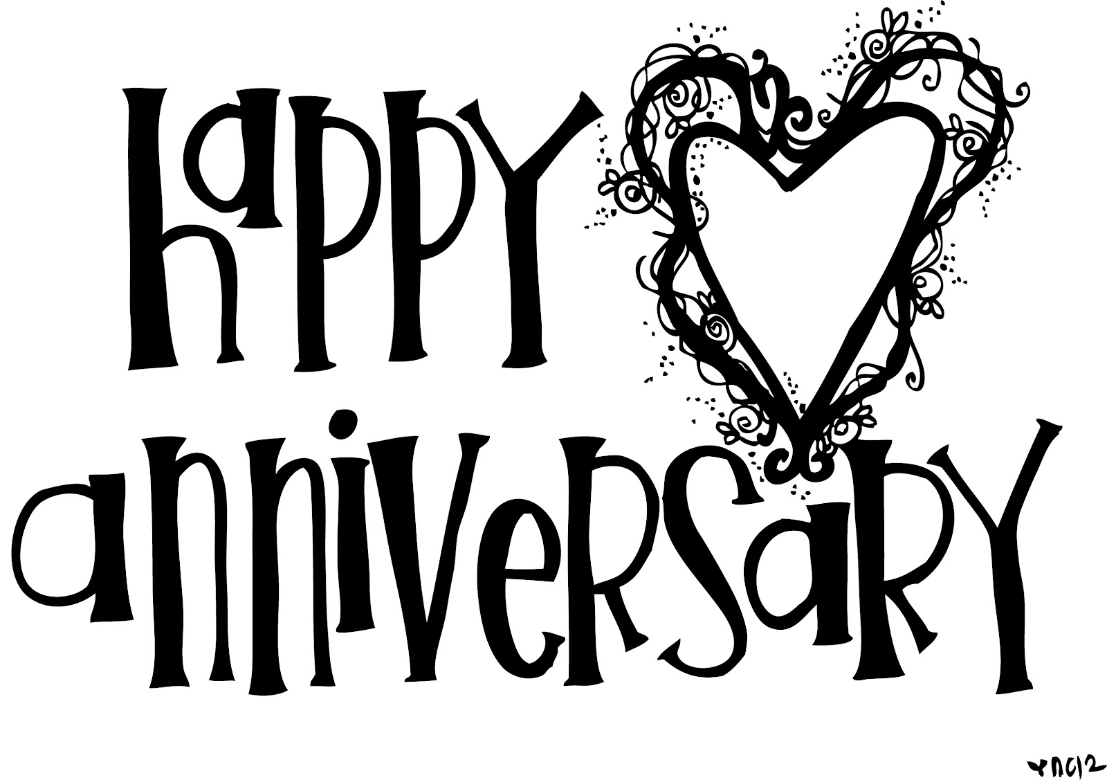 Clipart happy anniversary free.  rd kid
