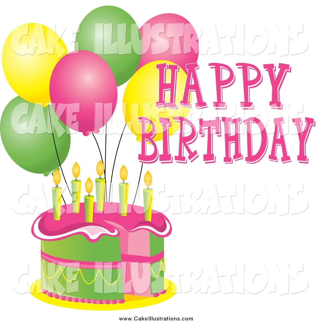 Clipart happy birthday cake picture royalty free library Happy birthday cake free clip art - ClipartFox picture royalty free library