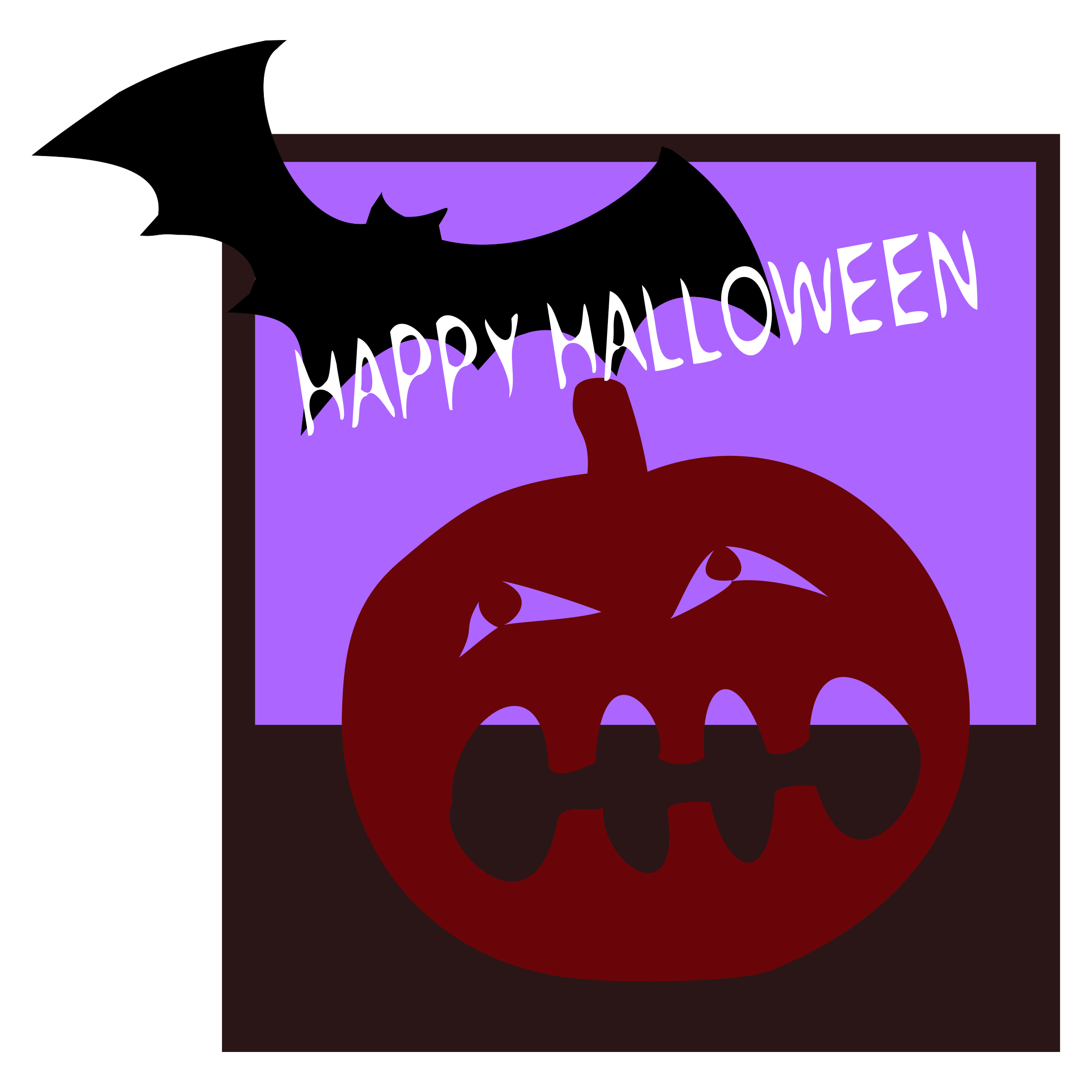 Clipart - Happy Halloween clipart transparent stock