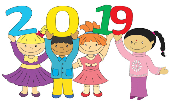 Clipart happy new year 2019 for kids clipart New Year clipart