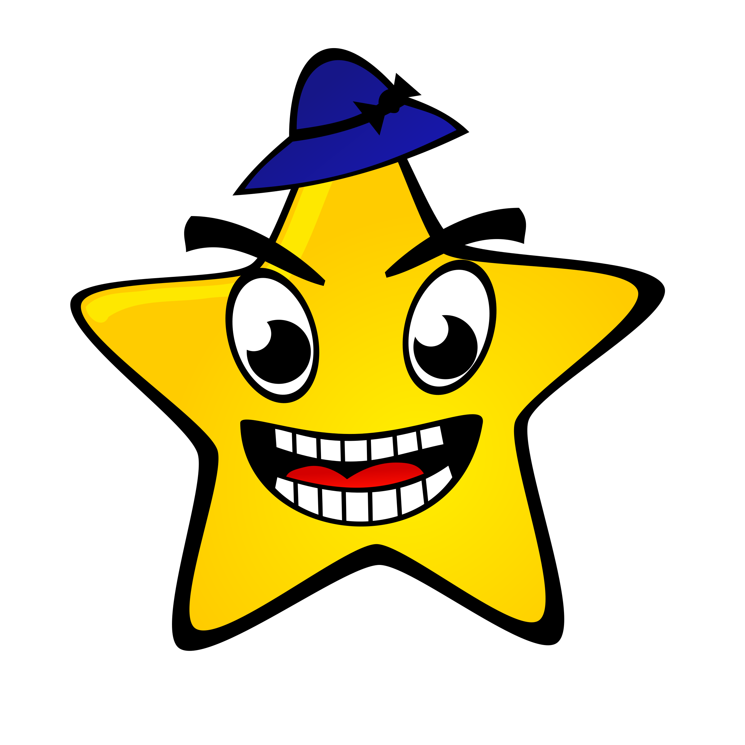 Happy star clipart clip royalty free Clipart - Starry night: Star clip royalty free