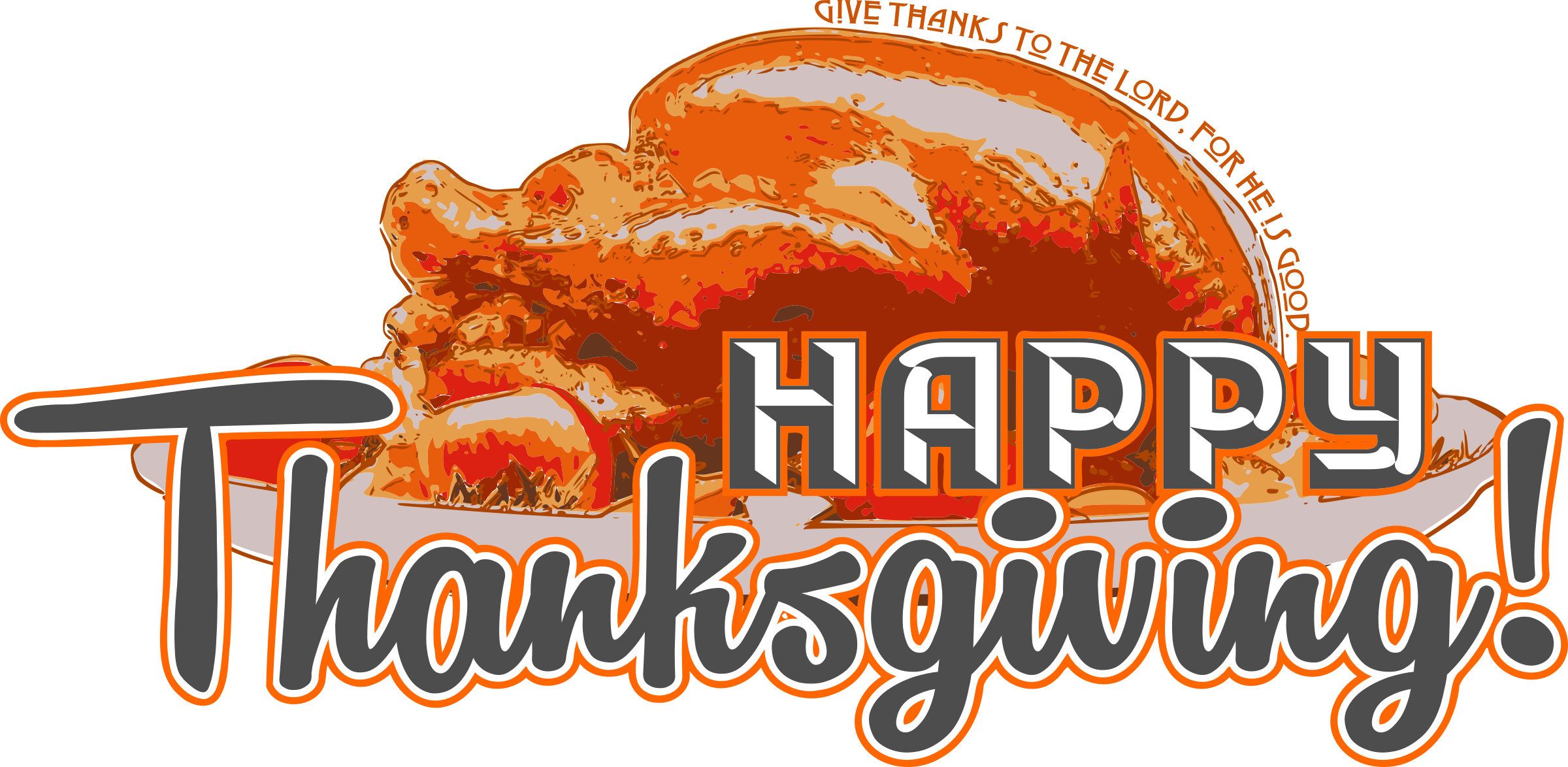 Thanksgiving 2015 clipart png freeuse download Clipart - Happy Thanksgiving png freeuse download