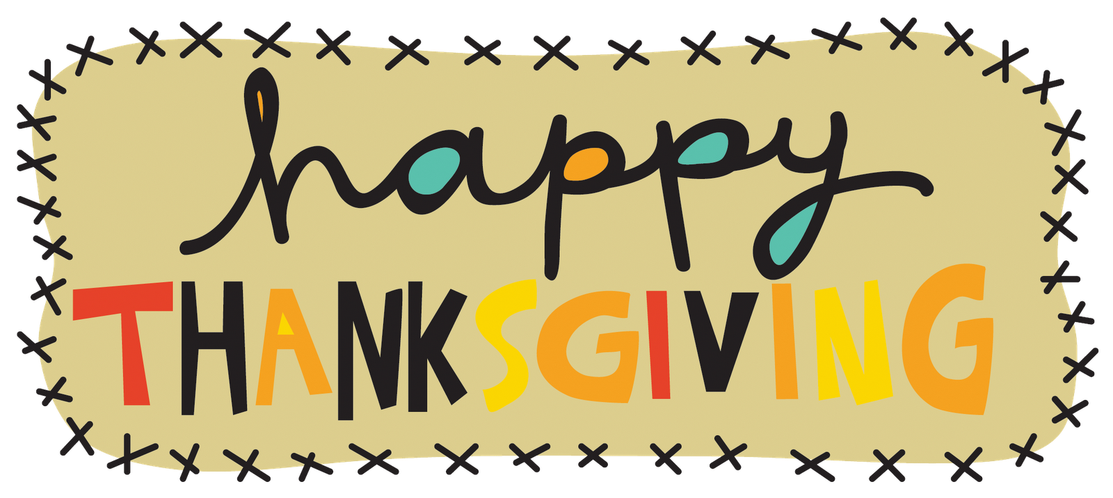 Clipart happy thanksgiving signs vector freeuse Healthy, Fit, and Focused: Thanksgiving Survival Guide - 5 Tips on ... vector freeuse
