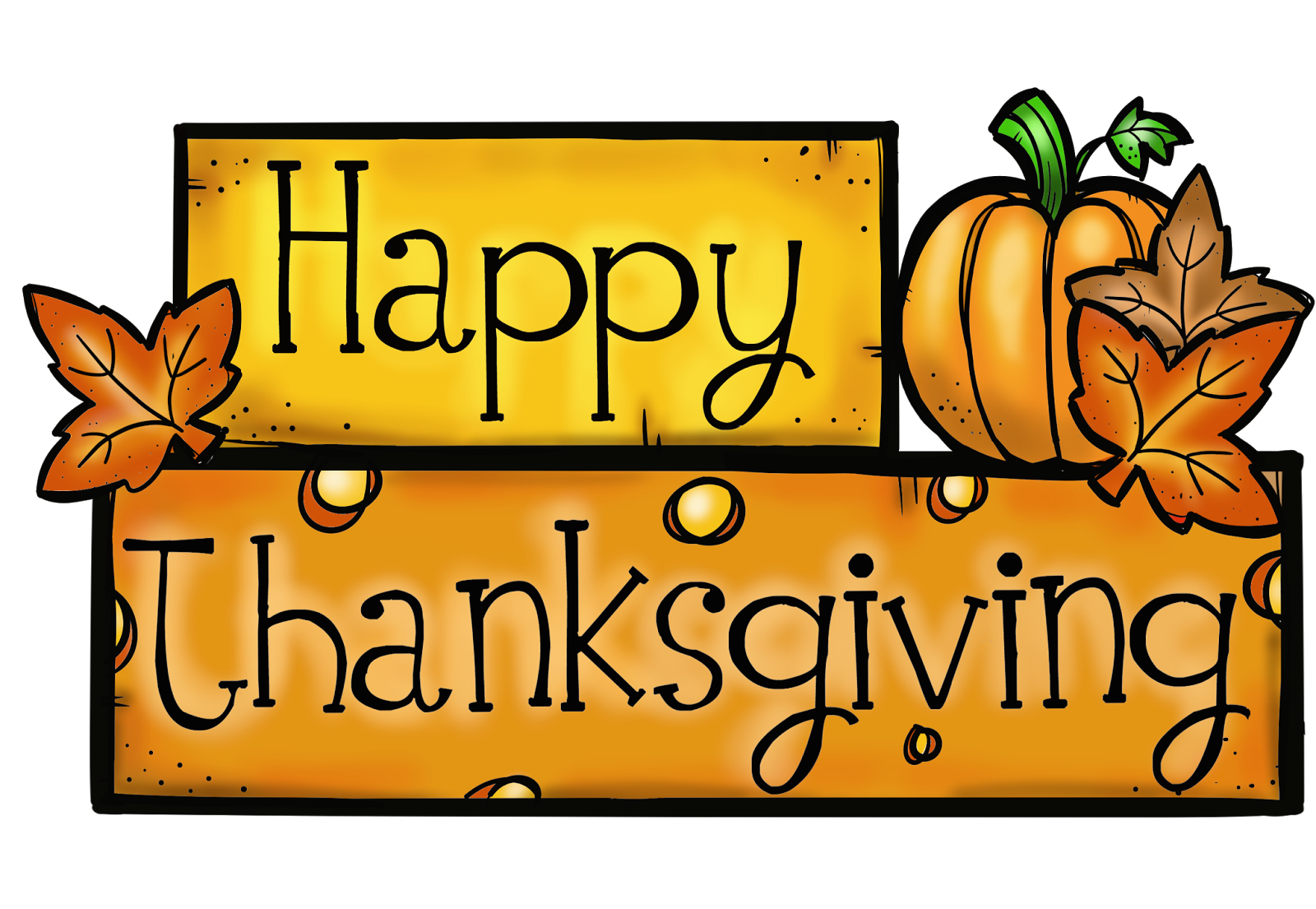 Clipart happy thanksgiving signs clipart black and white stock November 2017 - HAPPINESS IS WATERMELON SHAPED! clipart black and white stock