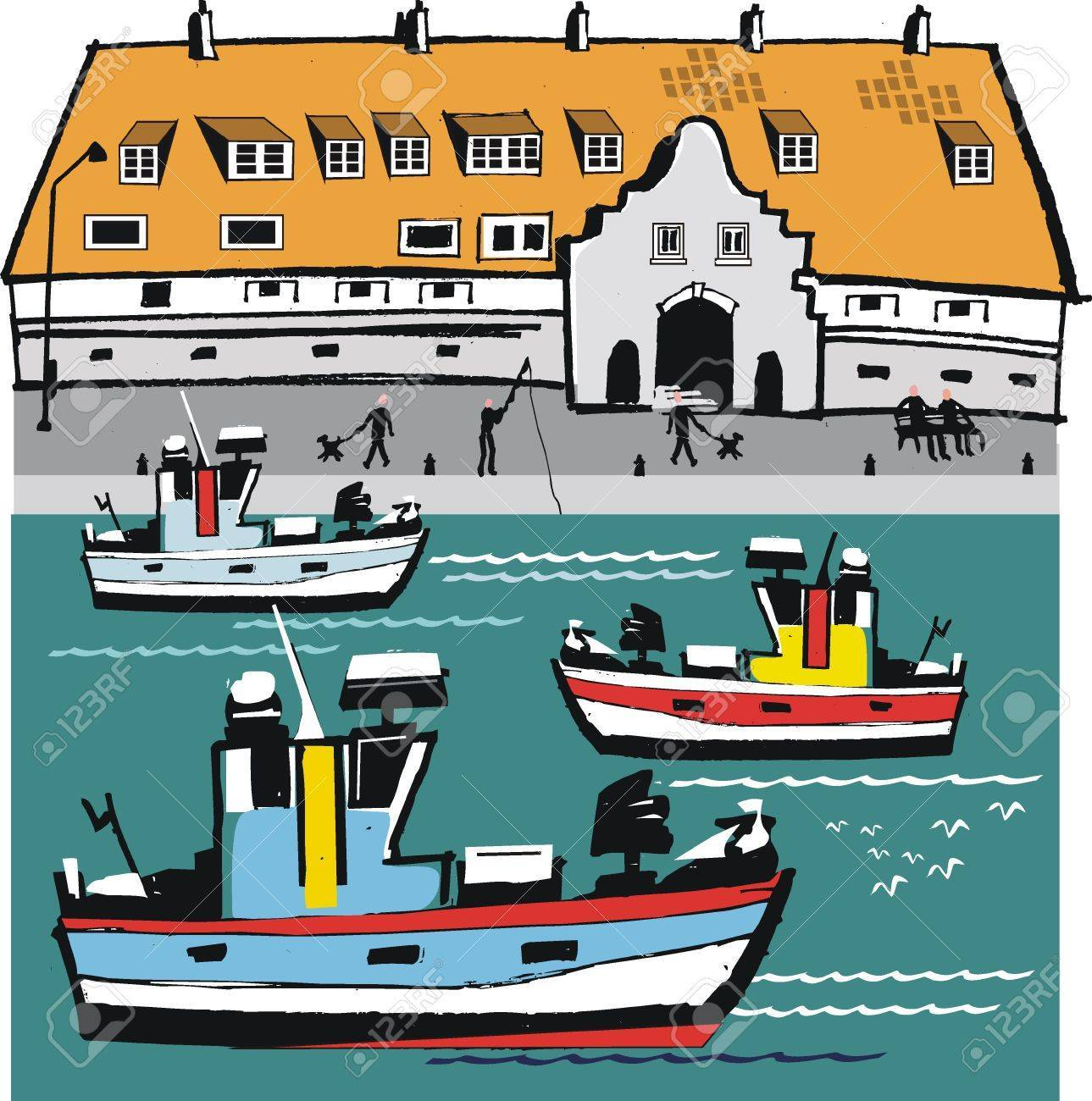 Clipart harbour clipart black and white library Harbour clipart 4 » Clipart Portal clipart black and white library