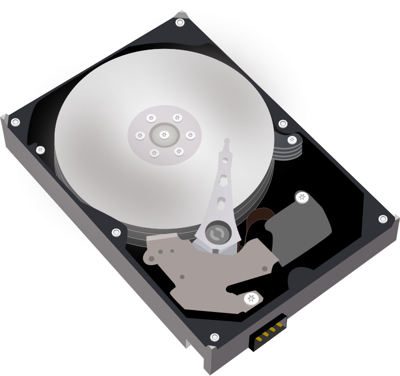 Clipart hard drive vector transparent stock Free clip art \
