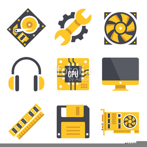 Clipart hardware vector freeuse library Free Clipart Computer Hardware | Free Images at Clker.com - vector ... vector freeuse library
