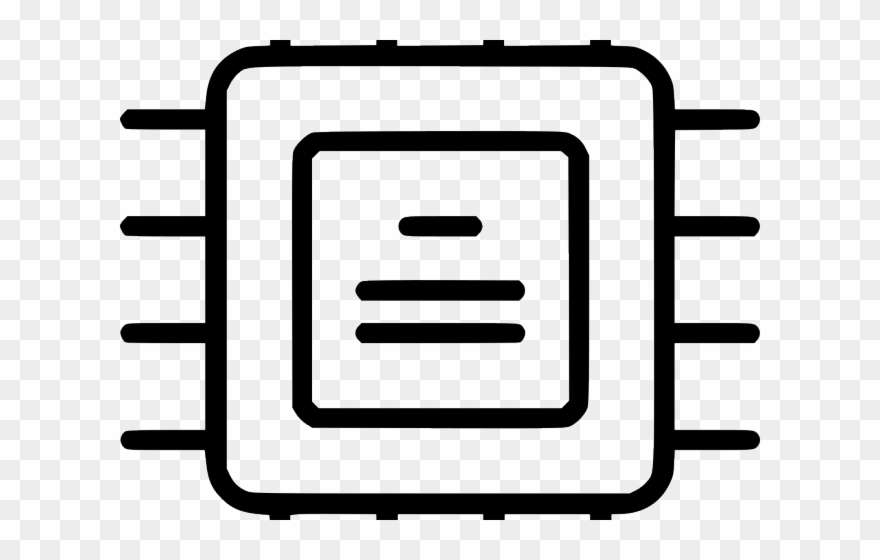 Clipart hardware clipart free download Cpu Clipart Hardware - Integrated Circuit - Png Download (#3281084 ... clipart free download