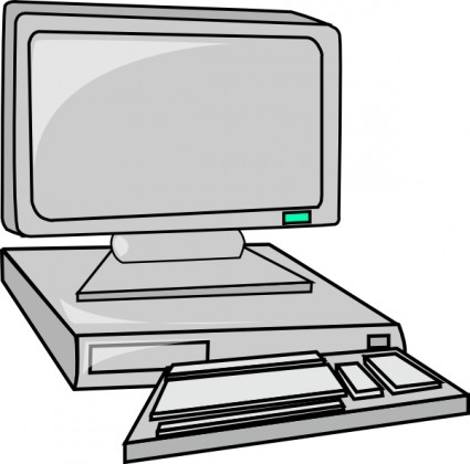 Clipart hardware graphic free Desktop Computer clip art | Clipart Panda - Free Clipart Images graphic free