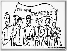 Clipart hari kemerdekaan indonesia clip art download Mewarnai Gambar Bertema Hari Kemerdekaan   a   Pinterest   Hari ... clip art download