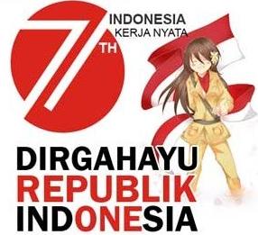 Clipart hari kemerdekaan indonesia clipart black and white Kumpulan Download DP BBM Hari Kemerdekaan RI Ke 72 Tahun 2017 ... clipart black and white