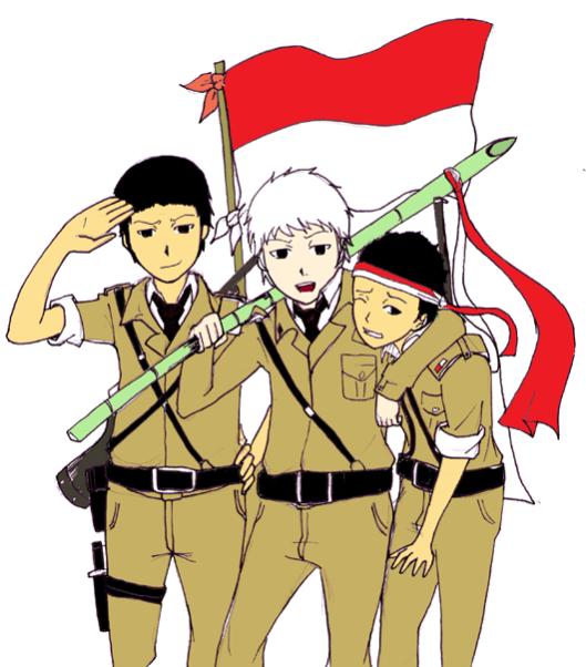 Clipart hari kemerdekaan indonesia vector black and white download Kemerdekaan clip art - ClipartFest vector black and white download