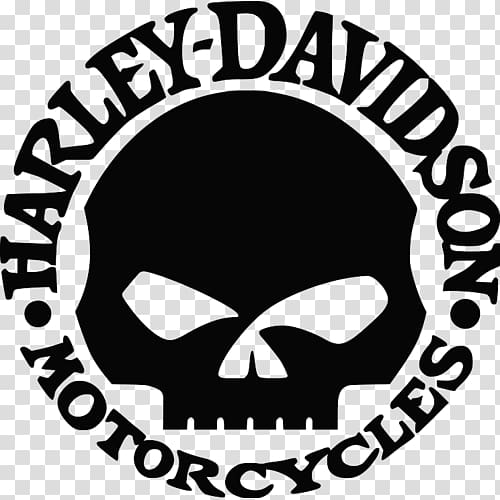 Clipart harley davidson logo black and white Harley-Davidson Motorcycle Logo Sticker, motorcycle transparent ... black and white