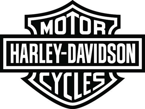 Harley davidson motorcycle clipart free graphic black and white Free Harley-Davidson Logo Cliparts, Download Free Clip Art, Free ... graphic black and white