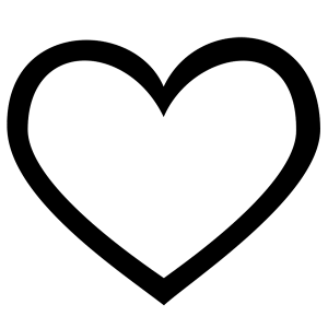 Clipart hesrt picture library download 999+ Heart Clipart Black And White [Free Download] - Cloud Clipart picture library download